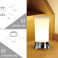 amazon com zeefo table lamps indoor motion sensor led night