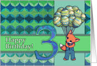 3rd birthday cards from greeting card universe