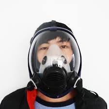 Masker Uap masker gas 7 setelan kimia gas dan uap organik masker filter