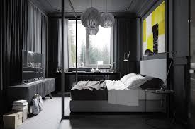 Dark Grey Accent Wall by Dark Grey Bedroom Walls Best 25 Dark Gray Bedroom Ideas On