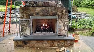 outdoor fireplaces mason landscape designs catasauqua pa