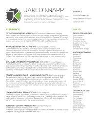 Experiential Marketing Resume Designer Jared Knapp Resume