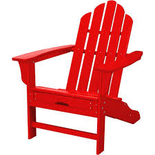 Adirondack Chair With Ottoman Hanover All Weather Patio Adirondack Chair With Hide Away Ottoman