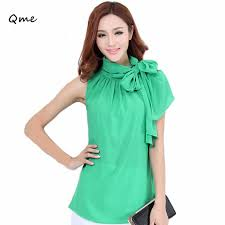plus size blouses for work ruffled blouses tie up shirt for chiffon
