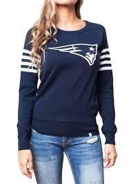 patriots sweater patriots womens varsity sweater sportythreads com