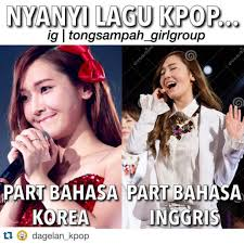 Meme Komik Kpop - gambar dagelan lucu instagram terkini 2017 dagelan lucu