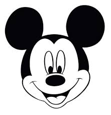 minnie mouse face coloring pages mickey mouse head coloring page