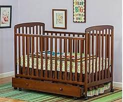 convertible crib daybed trundle drawer storage wood baby room