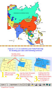 regional map of asia asia regional powerpoint map countries names maps for design