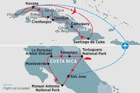 Cuban Map Cuba Tours Travel U0026 Trips Peregrine Adventures Gb