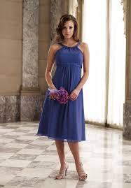 halter bridesmaid dresses 107 79 charming empire waist knee length halter bridesmaid dress