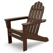 terrace mahogany plastic patio adirondack chair iva15ma