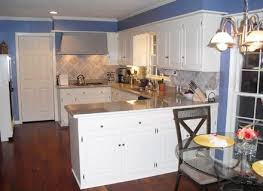 Painted Glazed Kitchen Cabinets Pictures by Beautiful White Painted Glazed Kitchen Cabinets Painting And