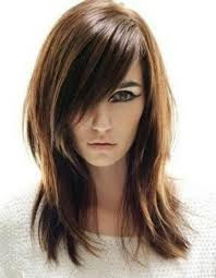 hair cuts all straight hair google best long choppy layered straight hairstyles with long side bangs