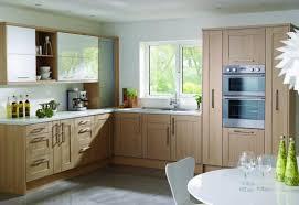light oak shaker kitchen cabinets light oak finish 38 finishes any size made to measure