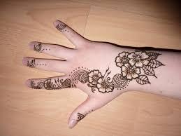 tattoo designs for hand henna flower designs henna tattoo indian arabic design pictures
