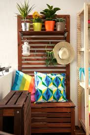 Does Ikea Have Patio Furniture - hide some storage wooden storage bench balconies and goodies