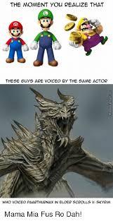 Fus Ro Dah Meme - 25 best memes about fus ro dah fus ro dah memes