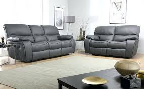 Gray Leather Reclining Sofa Portentous Small Leather Recliner Sofa Images Gradfly Co
