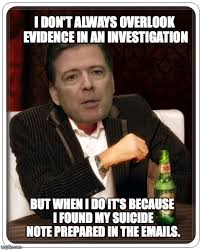 I Dont Always Meme Generator - comey knows imgflip
