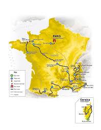 Saint Malo France Map by 2013 Tour De France Rideon