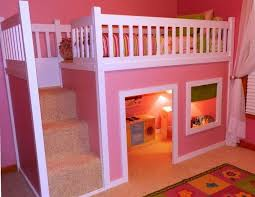 Beautiful Bunk Beds Design With Pink Colours NYTexas - Pink bunk bed