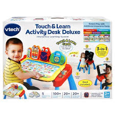 vtech activity table deluxe vtech touch learn activity deluxe desk target
