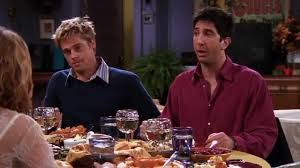 brad pitt in friends thanksgiving episode part 3