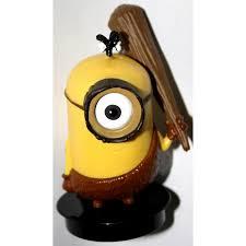 limited edition 2015 universal studios stone age minion figurine
