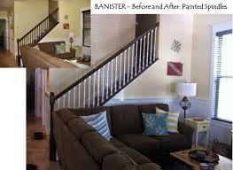Painting Banister Spindles Susan Snyder Banister Painted White Spindles