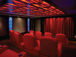 Home Theater Ceiling Lighting Home Theater Lighting And Design By Dennis Erskine Home Theater