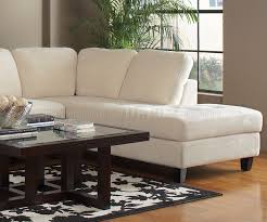 walker sectional sofa by coaster in off white fabric