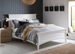 Bed Frame White Wooden Bed Frames White Withrage Wood Frame Drawers Bedroom