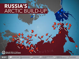 Alaska And Russia Map by Russia Has 40 Icebreakers In Arctic Us Has 2 U2013 But One U0027s Broken