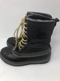 s sorel caribou boots size 9 mens sorel caribou black grey winter boots size 9 ebay