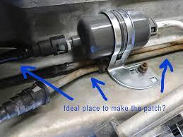 lexus sc300 gas tank fuel line leak diy replacement options don u0027t want to burn up my