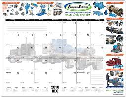 marketing with print desk pad calendar