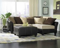 Brown And Beige Living Room Brown Sectional Sofa And Its Suitable Surroundings Living Room