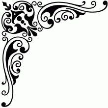 corner vinyl stencilek silhouettes stenciling and