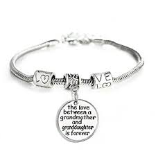 granddaughter jewelry between a grandmother and granddaughter is forever