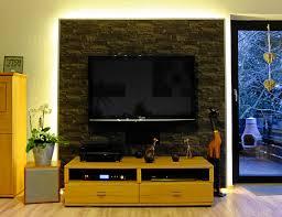 Wohnzimmer Ideen Tv Wand Wandideen Ruhbaz Com