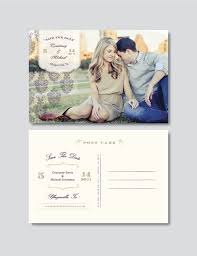 save the date postcard vintage save the date postcard template digital photoshop files