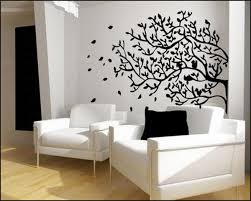 living room design ideas with tree wall murals styleshouse