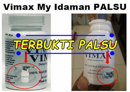 ciri vimax asli canada dan vimax palsu