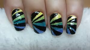 scotch tape nail art youtube