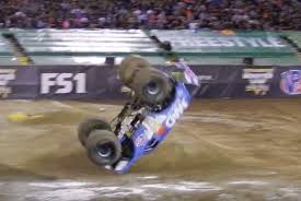 monster truck video for video monster truck performs world first front flip performancedrive