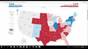 2016 Presidential Map 2016 Presidential Elections Timelapse Usa Clinton Vs Trump Youtube