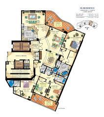 floorplans for bellini condo bal harbour miami florida area