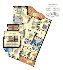 Madison Residences Floor Plan by Bella Mare Williams Island Luxury Condo For Sale Rent Floor Plans