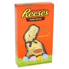 reese s easter bunny reeses peanut butter cup bunny 141g 4 tesco my favorite